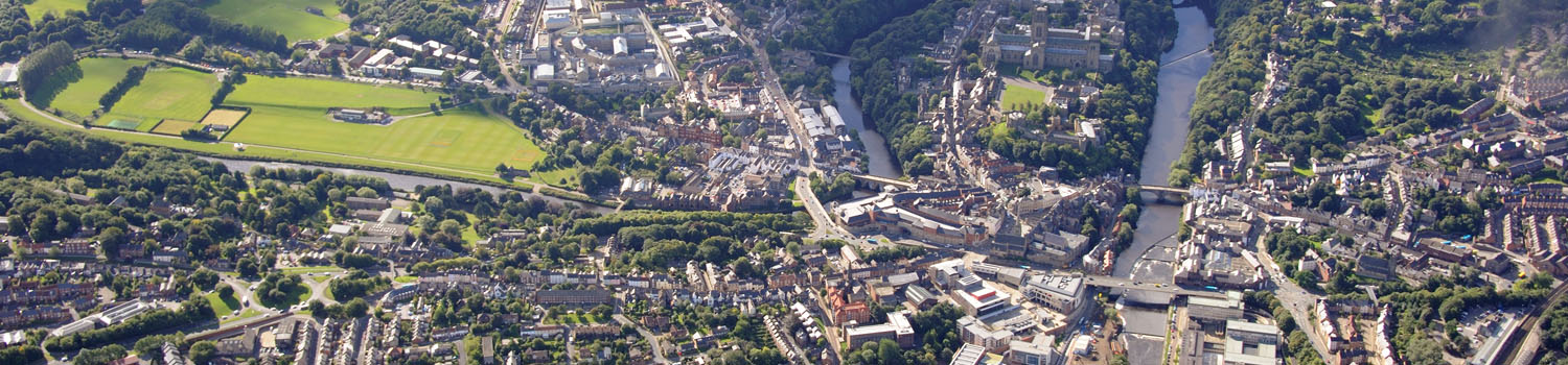 Durham from above